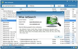 wise jetsearch portable