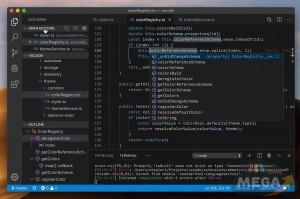 visual studio code للماك